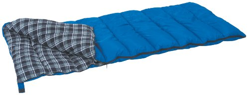 (Stansport Prospector Rectangular Sleeping Bag (Blue Plaid, 35-Degree))
