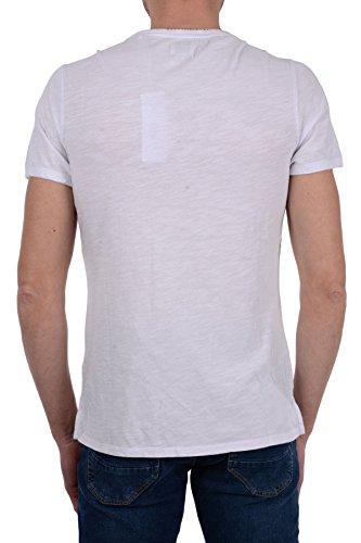 T A000 estate Primavera Uomo Guess Bianco shirt M82i09 k6xn0 dx1USB