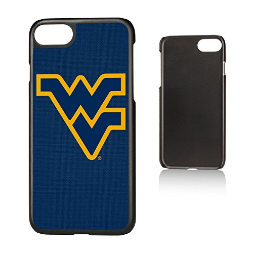 Keyscaper KSLMI7-00WV-SOLID1 West Virginia Mountaineers iPhone 8/7 Slim Case with WVU Solid Design ()