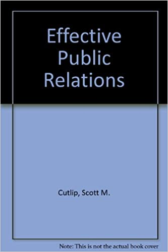 Effective Public Relations Cutlip Pdf