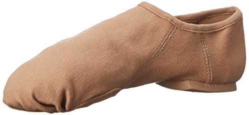 Capezio Womens Eos Canvas Jazz Shoe Carmel