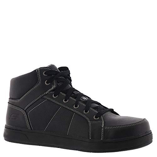 Skechers Work Watab Stirling ST Steel Toe Mens Sneakers Black/Black ()