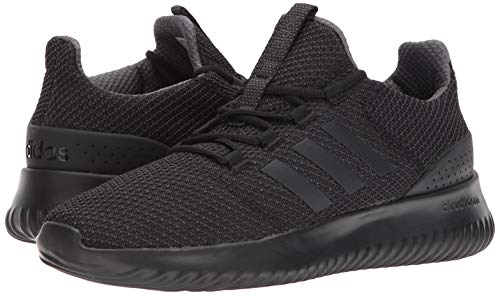 adidas Men's Cloudfoam Ultimate Running Shoe Utility Black, 9.5 M US by adidas (Image #6)