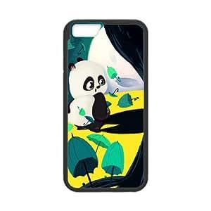 Best Quality [LILYALEX PHONE CASE] Cute Pandas For Apple Iphone 6 Plus 5.5 inch screenCASE-8