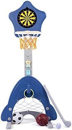 子供のバスケットボールラックバスケットボールバスケット屋内バスケットベビーキッド撮影バスケットバスケットボールのホーム玩具を昇降可能