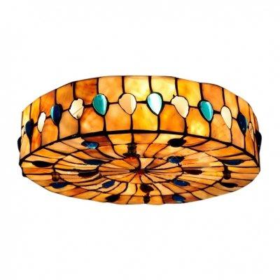 Amazon.com: Hua Glamorous plumas carcasa sombra tres luces ...