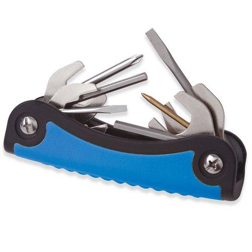 New T-2 Scuba Toolpack Multi Tool (Blue) for Repairing & Adjusting Scuba Diving Regulators (11 Stainless Steel Tools)