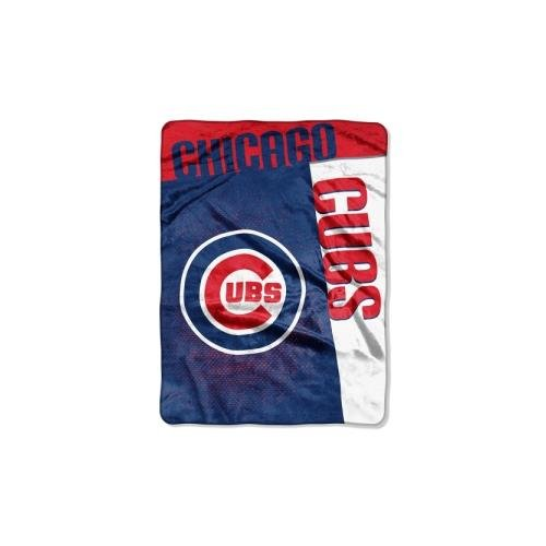 Northwest MLB Chicago Cubs Strike Raschel Throw Blanket, 60