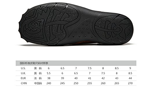 Shoes Leisure Sports Men's Retro Brown Shoes LIYUAN Shoes Work Outdoor Handmade Anticollision Shoes Shoes SnIXwqFR