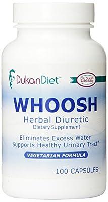 Dukan Diet Whoosh Herbal Diuretic, 100 Count