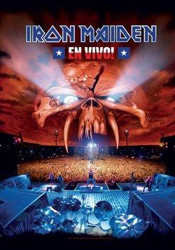 Iron Maiden ~ En Vivo Fabric Cloth Poster Flag!