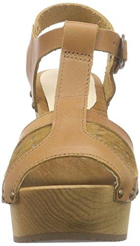 Sanita Pamina Chunk Sandal - Sandalias de Plataforma Mujer Marrón