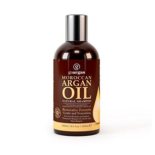 Moroccan Argan Oil Shampoo with Restorative Formula 250ml. Gentle & Paraben...