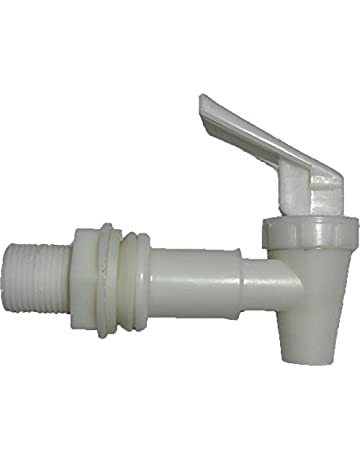 Water Dispenser Replacement Faucet FREE FLOW -- White Male MADOL [PRO008M] Llave para