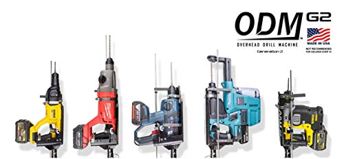 (Overhead Drill Machine ~ Overhead Drilling Made Easy! ~ ODMG2 Compatible with BOSCH, DEWALT, HILTI, HITACHI, MAKITA & MILWAUKEE)