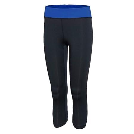 NSYJKPantaloni da yoga3/4 Leggings Mujer Fitness Yoga ...