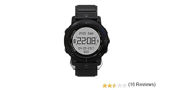 [Oferta] Smartwatch GPS Deportivo Sumergible, HAMSWAN Reloj Deportivo Inteligente Bluetooth 4.2 11 con GPS Antigolpe Antipolvo Antiagua Hasta Bajo de ...