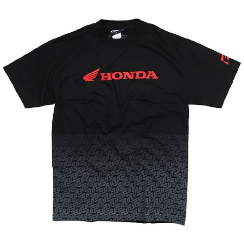 Factory Effex 15-88300  'Honda' Fade T-Shirt (Black, - Motorcycle Honda Shirts