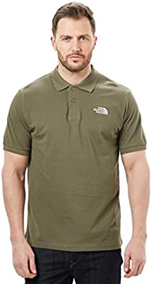 The North Face La cara norte TNF M POLO PIQ, Verde, M: Amazon.es ...