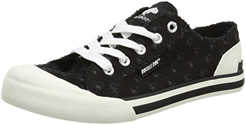 Daytona Multicolour Jazzin Damen Black Sneaker Rocket Dog BxUZAA