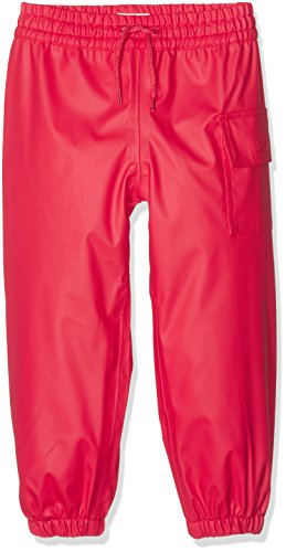 Hatley Childrens' Splash Pants, Red,6
