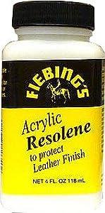 Fiebing's Neutral Acrylic Resolene Leather Finish 4oz from Fiebing Company