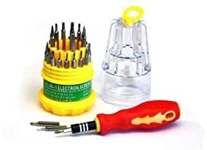 GreeN And Red Color Screwdriver Pocket Set 30 in 1 Precision Torx Repair Tools For Cell Phone PDA/PC