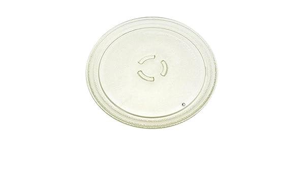Whirlpool - Plato giratorio de cristal para microondas 28 cm ...