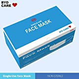 BYD Class 1 Medical Mask, Pack of 50