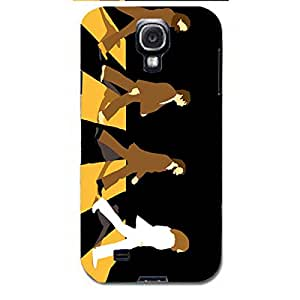 Retro The Beatles Phone Case Snap On Samsung Galaxy s4 i9500 The Beatles Luxury Design