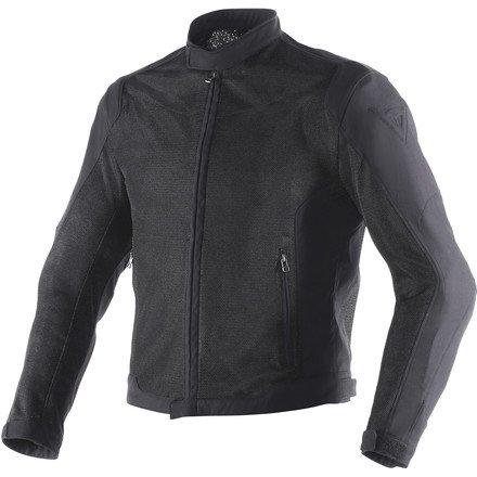Dainese Air Flux D1 Mesh Mens Textile Jacket Black/Black 38 USA/48 (Air Mesh Jacket)