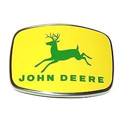 AF3166R New John Deere Tractor Front Medallion Emb