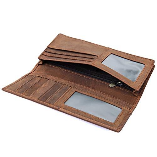 Minimalista Portafogli Home 2cm 18 Per Credito Sottile 1 Uomo Da Carte 9 Con braun3 Fermasoldi Portafoglio Porta Yhujh Viaggio Di 7xaqdzzH