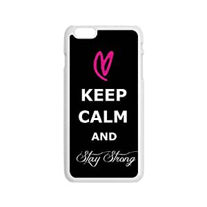 DAZHAHUI Creative Keep Calm And Stay Strong Pattern Fahionable And Popular Back Case Cover For Iphone 6 BY RANDLE FRICK by heywan