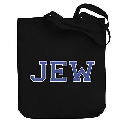 outlet Teeburon Jew Canvas Tote Bag