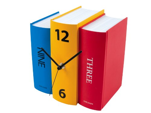 Faux Books Clock
