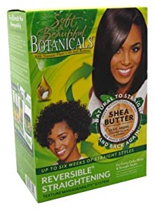 Soft & Beautiful Botanicals Reversible Straightening Texture Manageability System
