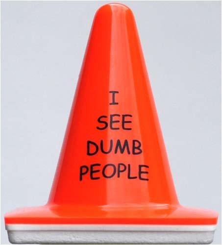 Blaze Cone: I See Dumb People