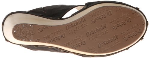 Dr. Scholls Womens Farida Wedge Sandal Black VHVy1mKU3t