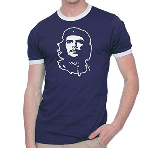 CHMAK Cheguevara Revolution Che T Shirt Ringer Fashion Tee
