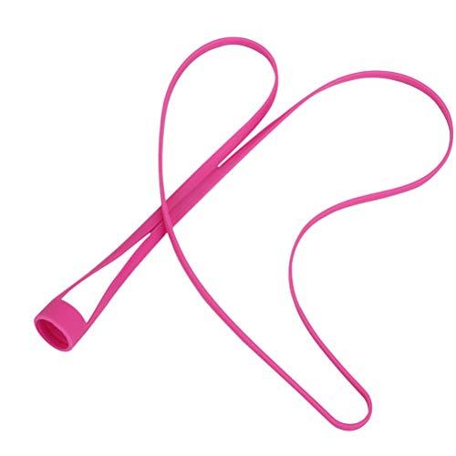 VORCOOL Electronic Cigarette Silicone Lanyard Neck Sling Hanging Rope Ego Hole Ring (Rosy)