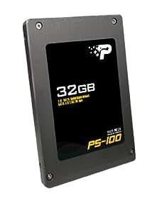 """Patriot Memory PS-100 SATA unidad de estado sólido - Disco duro sólido (32 GB, SATA, 230 MB/s, 100 MB/s, 1000000 h, 2.5"""")"""
