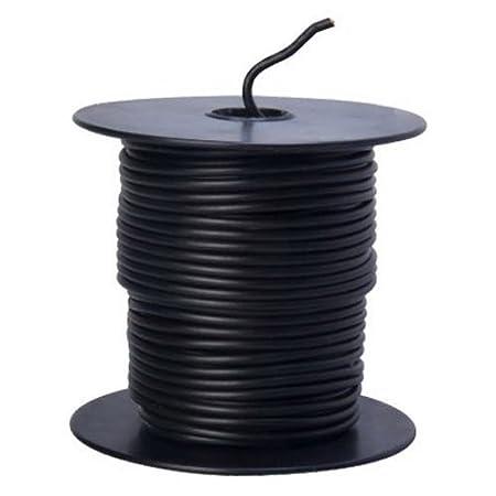 Southwire 55666623 Primary Wire, 16-Gauge Bulk Spool, 100-Feet, Black Jensen