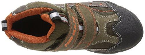 Primigi Clayton E Jungen Sneaker Mehrfarbig (Multicolore (Fango/Militare))