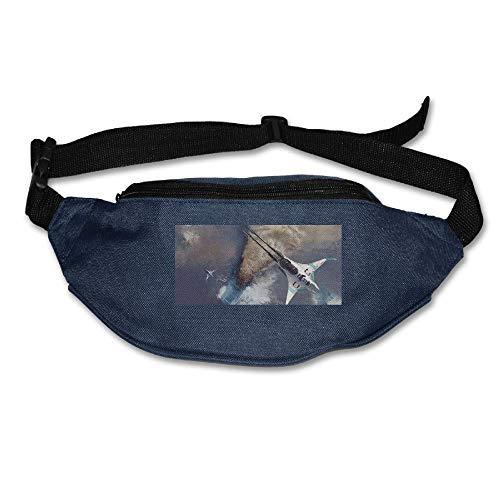 Waist Bag Fanny Pack Science Fiction Pouch Running Belt Travel Pocket Outdoor Sports ()