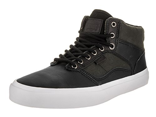 Vans Unisex Bedford (Suiting) Skate Shoe (9.5 B(M) US Women / 8 D(M) US Men, Black/White) (Shoe Van Bedford)