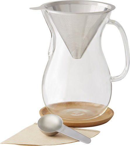 Caribou 8 Cup Pour Over Coffee Brewer by Caribou Coffee (6 Cup) by Caribou Coffee