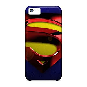 AnnaDubois Iphone 5c Protector Hard Cell-phone Case Customized Colorful Superman Series [zUP15587IIDV]