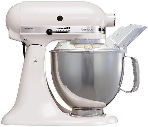 KitchenAid 5KSM150PSEWH Robot Artisan Blanc Batidora amasadora ...