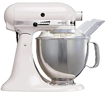 KitchenAid Artisan Mixer 5KSM150PSE (220Volt WILL NOT WORK IN THE USA) (White)